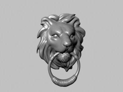 Lion Knocker Ovenveistos