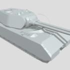 Maus Panzer Lowpoly