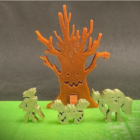 Gloomglow Forest Printable