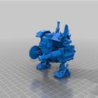 मेगा डेफ़ रोबोट योद्धा