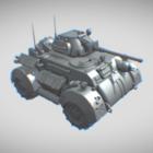 Gaming Military Tank