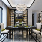 Modern Dinning Room Home Design Interior