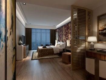 Modern Boutique Bedroom Interior