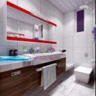 Modern Space Bathroom Interior
