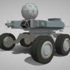 Moon Rover Vehicle