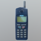 Old Nokia Cell Phone V1