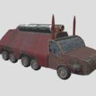 Sci-Fi Scrap Vehicle