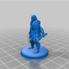 Skeleton Warrior Figurine