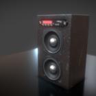 Черный Современный Динамик Box