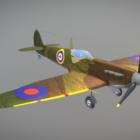 Supermarine Spitfire Mkii Aircraft