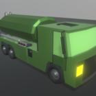 Tanker Lowpoly Truck