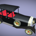 Wacky Races Vintage Car