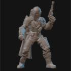 Mandalorian Miniature Sculpture