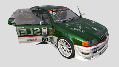 Coche de carreras Toyota Chaser