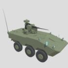 Ligh Tank With Gun