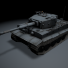 German Veteran Tiger Tank