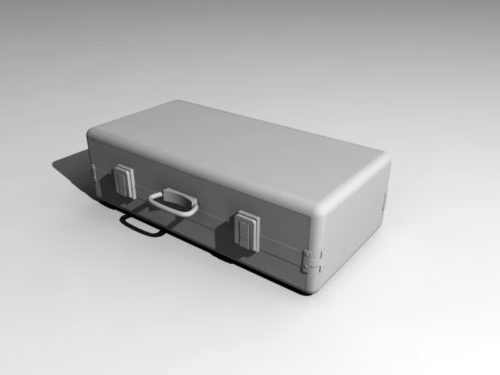 Lowpoly Suitcase
