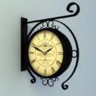 Antique Wall Clocks Decoration V1