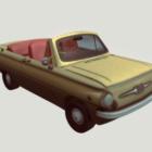 Vintage Car Zaz Convertible