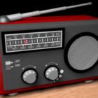 古いスタイルのラジオボックス