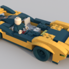 سباق سيارات ليغو