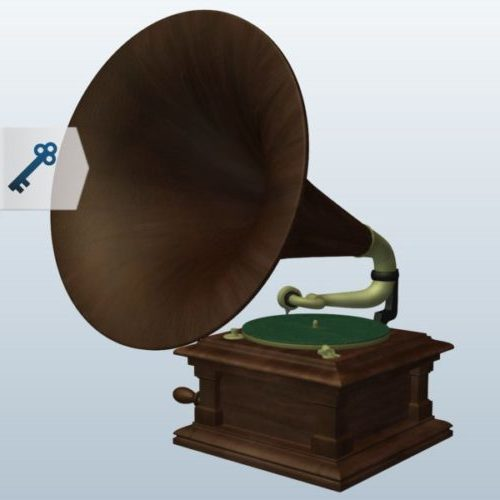 Victor Phonograph Device