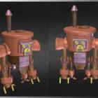 Steampunk Toy Robot