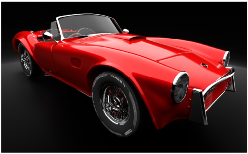 Ac Cobra Convertible Car