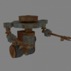 Ancient Gear Robot Character