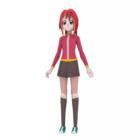 Japonsko Anime Character