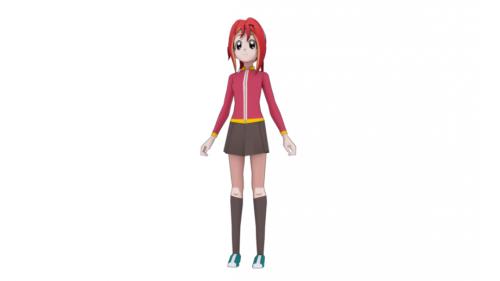 Japan Anime Character