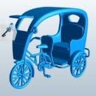 Sykkel Rickshaw Vehicle