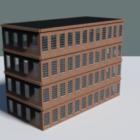 Byt cihlová budova