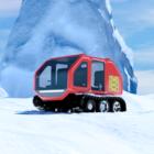 Car In Snow Scene