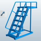 Cantilever Ladder Staircase
