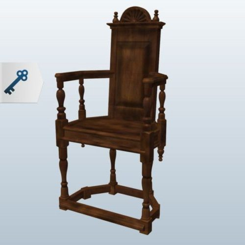 Klassinen Caquetoire-tuoli