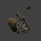 Catapult Ballistic Weapon