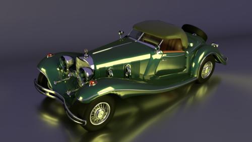 Mercedes Classic Roadster -auto