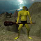 Cyclops Cartoon Character