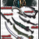 Waffen Nahkampf Sammlung