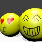 Yellow Emojis Ball