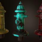 Straßenfeuer Hydrant V1