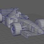 F1  Lowpoly سباق السيارات V1