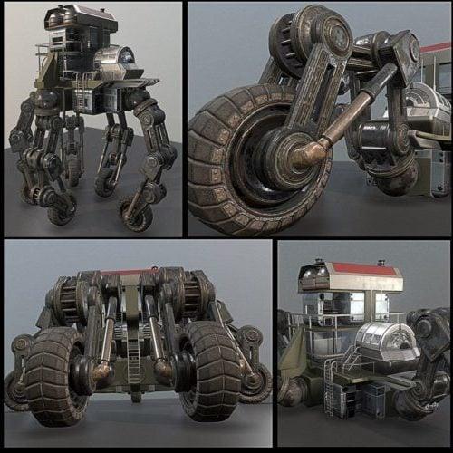 الدراجة المستقبلية Robotman