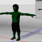 Hulk Alien Charakter