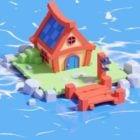 漫画の海の家