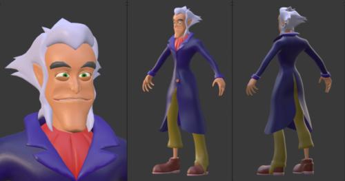 طبيب شخصية للرسوم المتحركة