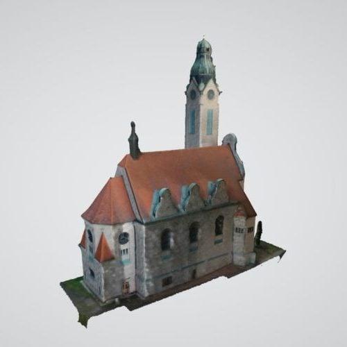 Jablonecin kirkon rakennus