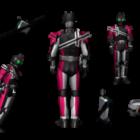 Personnage Kamen Rider V1