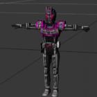 Personnage de robot Kamen Rider